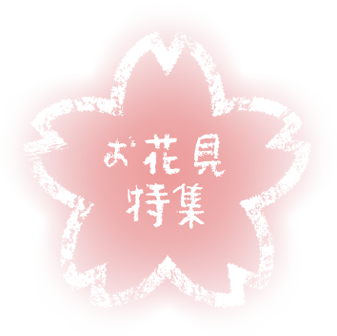 お花見特集